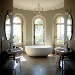 luxurious ensuite bathroom lou casteou